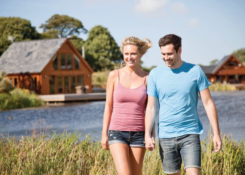 Anglesey lodges with hot tubs