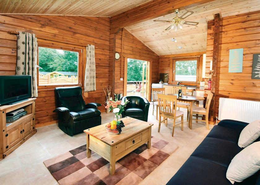 Heronstone Lodges with Hot Tubs Powys