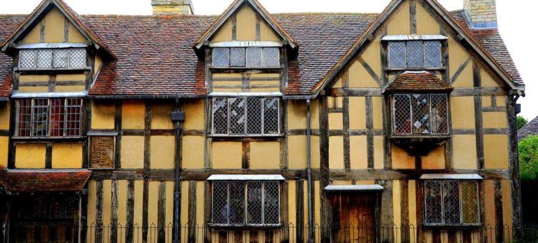 Shakespeare House in Stratford