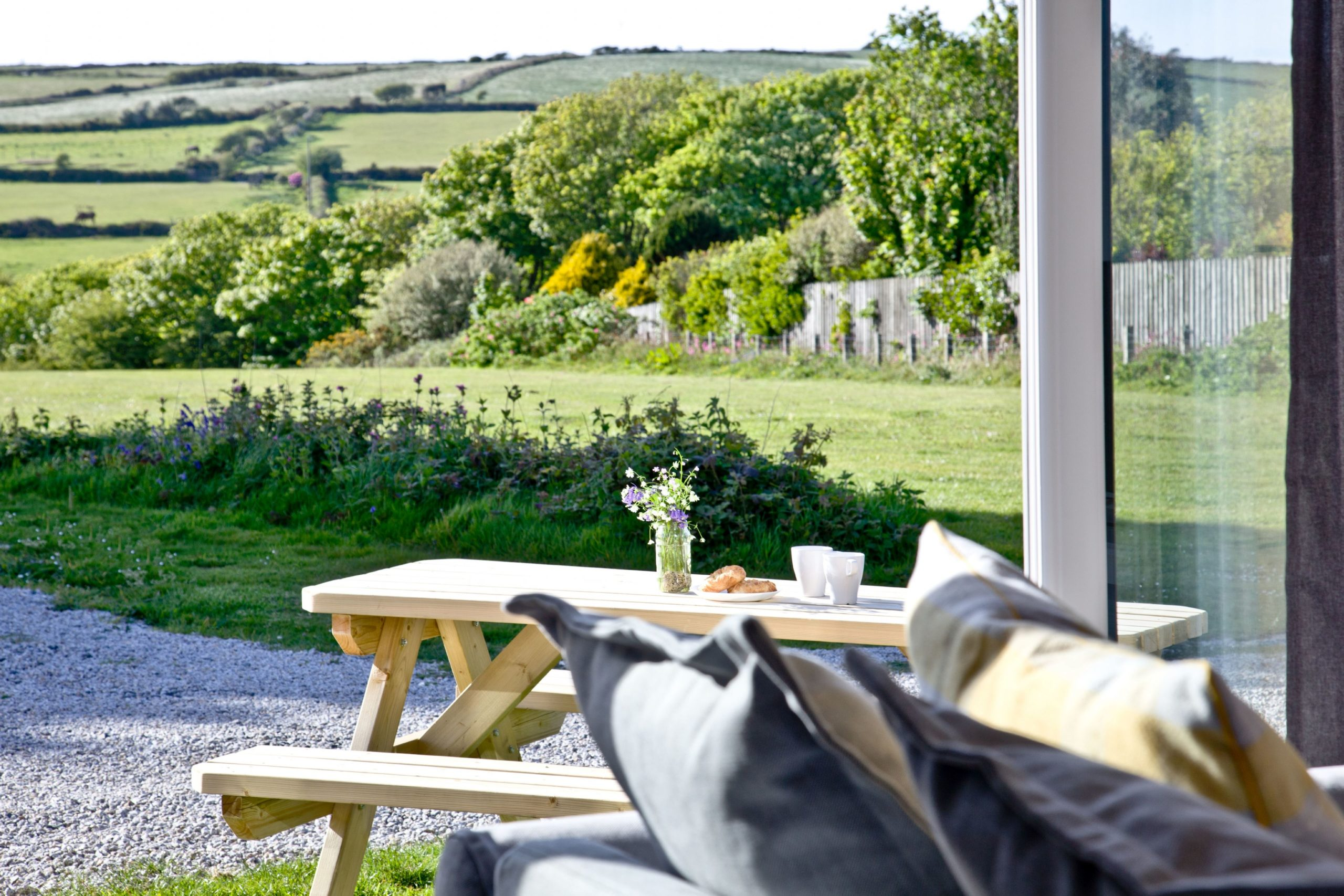 Wheal Rose Holiday Cabin with Hot Tub