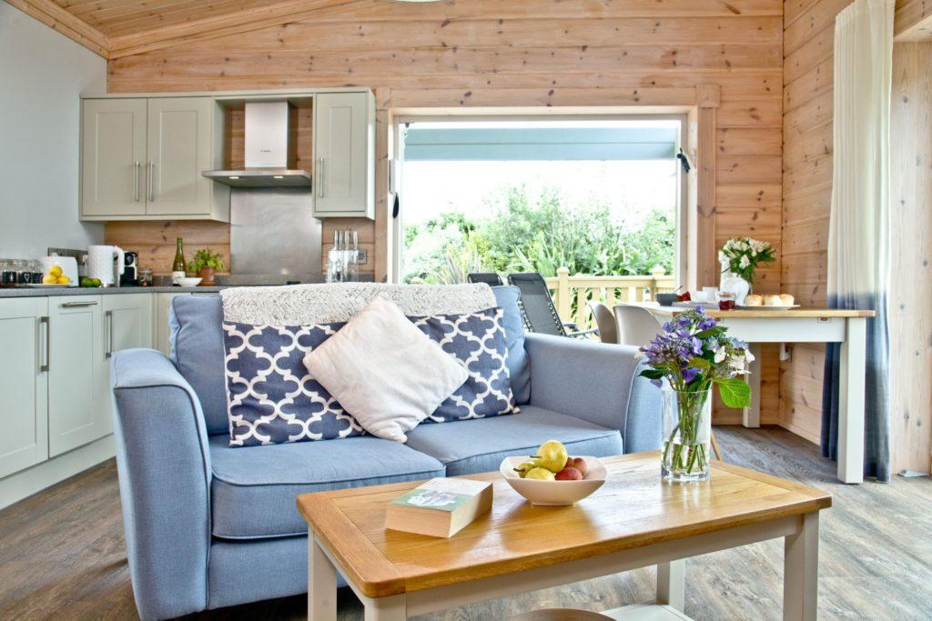 Swanpool Lodge Beautiful Interior