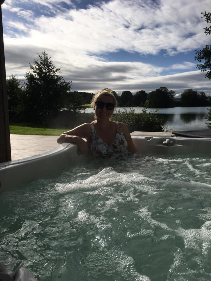 Lawson Lodge Hot Tub Time