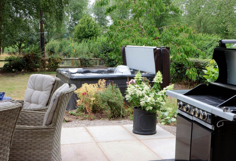 Stunning Garden Area with Private Hot Tub