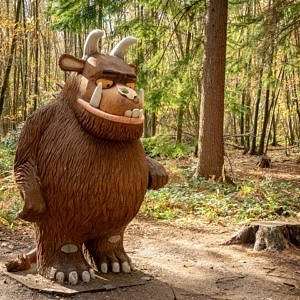 Gruffalo at Bedgebury National Pinetum and Forest