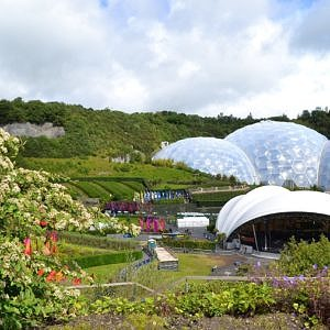 The popular Eden Project attraction