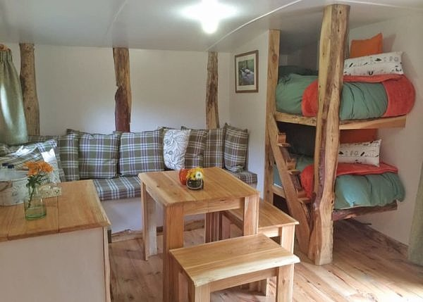 Florence Springs Hobbit House interior