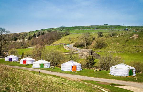 Keld bunkbarn yurts