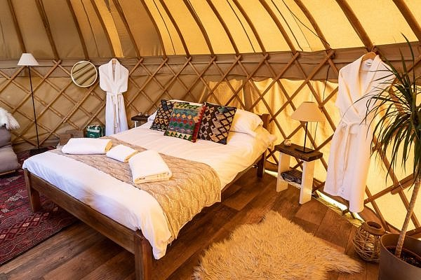 Yurtshire Fountains Relaxing Room