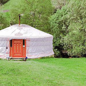 Yurt in Yorkshire