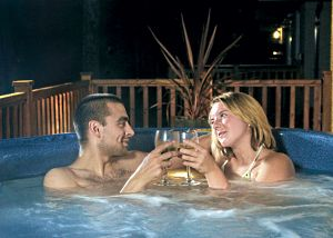 hengar manor lodges with hot tubs